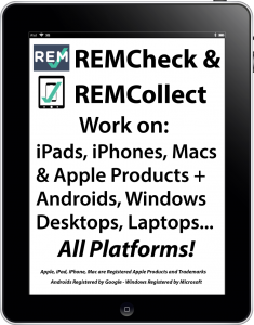 REMCollect and REMCheck Software and App Image